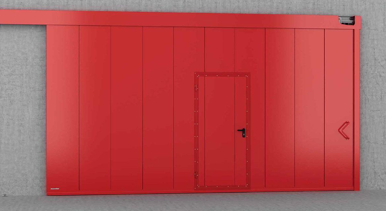 противопожарные ворота doorhan цены