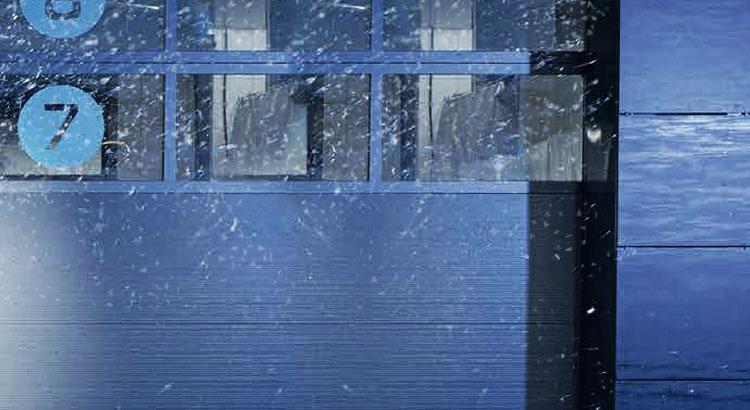 теплоизолированные панорамные ворота