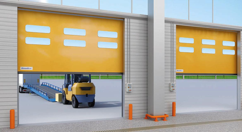 скоростные ворота doorhan dynamicroll