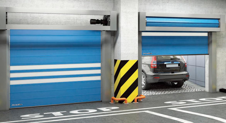 скоростные спиральные ворота doorhan thermicdoor